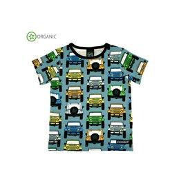 Villervalla T-shirt, cement, cars