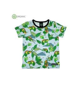 Villervalla T-shirt, lichtblauw, chameleon