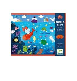 Djeco Puzzel, giant, in de zee
