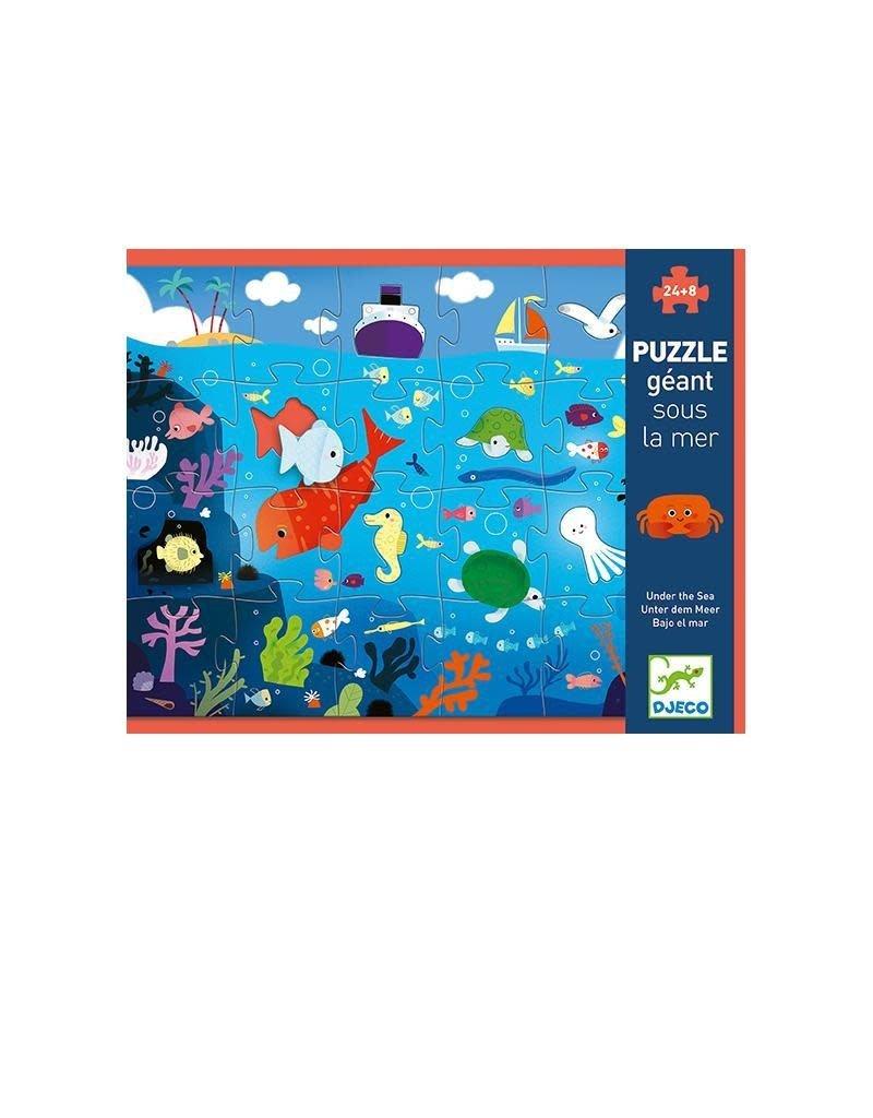 Djeco Djeco - puzzel, giant, in de zee, 32 st