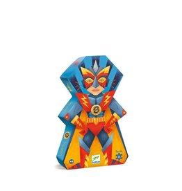 Djeco Puzzel, Laserboy, 36 st