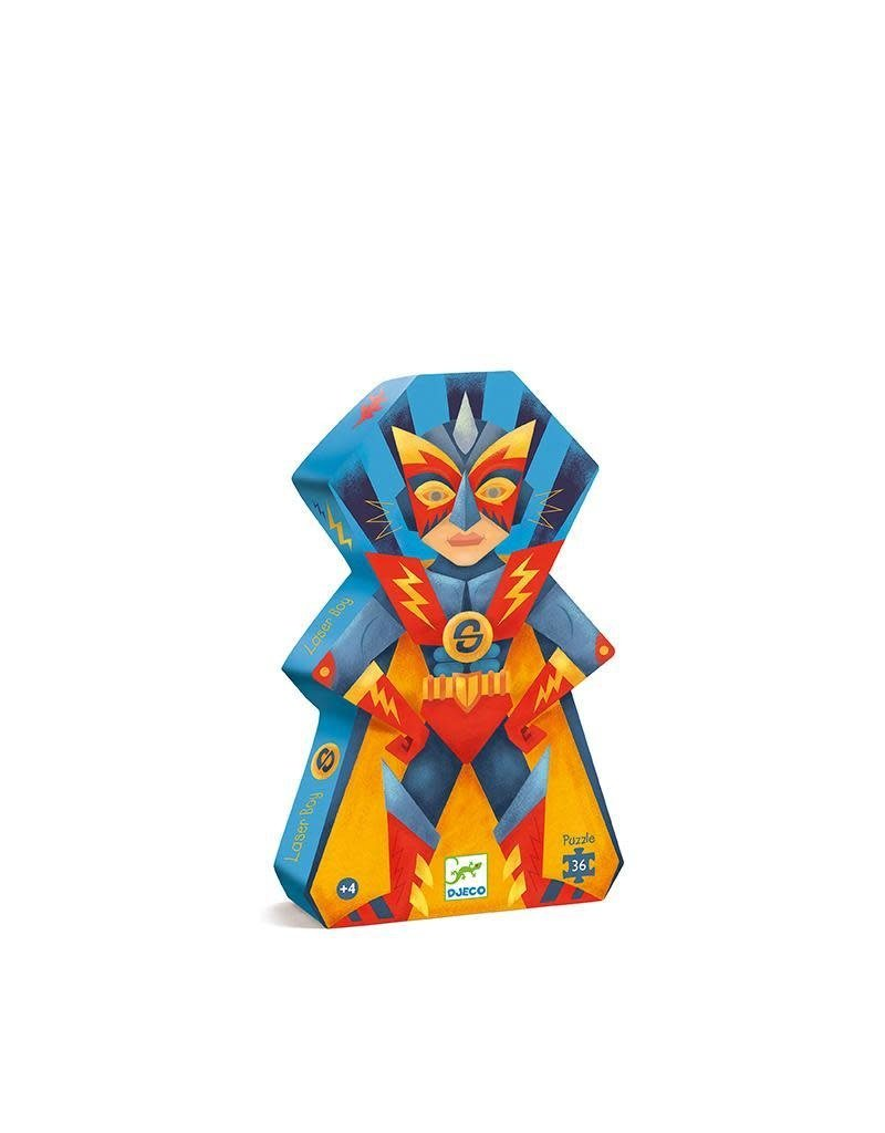Djeco Djeco - puzzel, Laserboy, 36 st