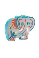Djeco Djeco - puzzel, Haathee de Aziatische olifant, 24 st