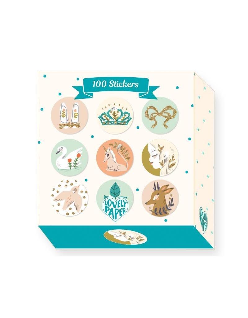 Djeco Djeco - stickers, 100 st