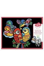 Djeco Djeco - kleurplaten, vilt, babyvogels
