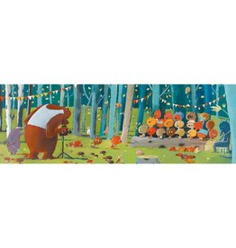 Djeco Puzzel, gallery, forest friends, 100 st