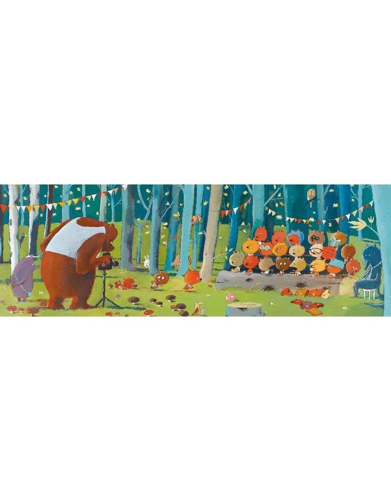 Djeco Djeco - puzzel, gallery, forest friends, 100 st