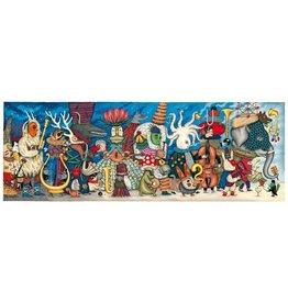 Djeco Puzzel, gallery, fantasy orchestra, 500 st