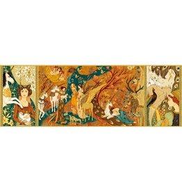 Djeco Puzzel, gallery, unicorn garden, 500 st