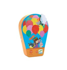 Djeco Puzzel, de heteluchtballon