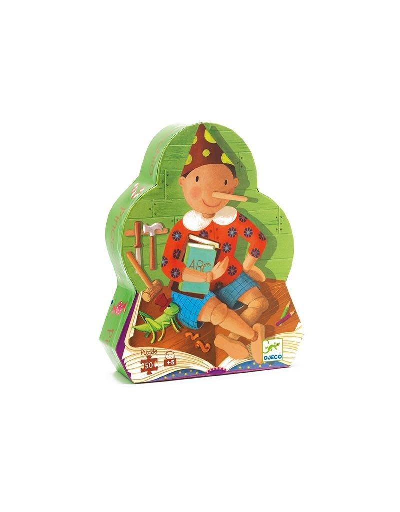 Djeco Djeco - puzzel, Pinocchio, 50 st