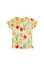 DUNS Sweden Duns Sweden - T-shirt, lichtgroen, garlic, chives and onion (0-2j)