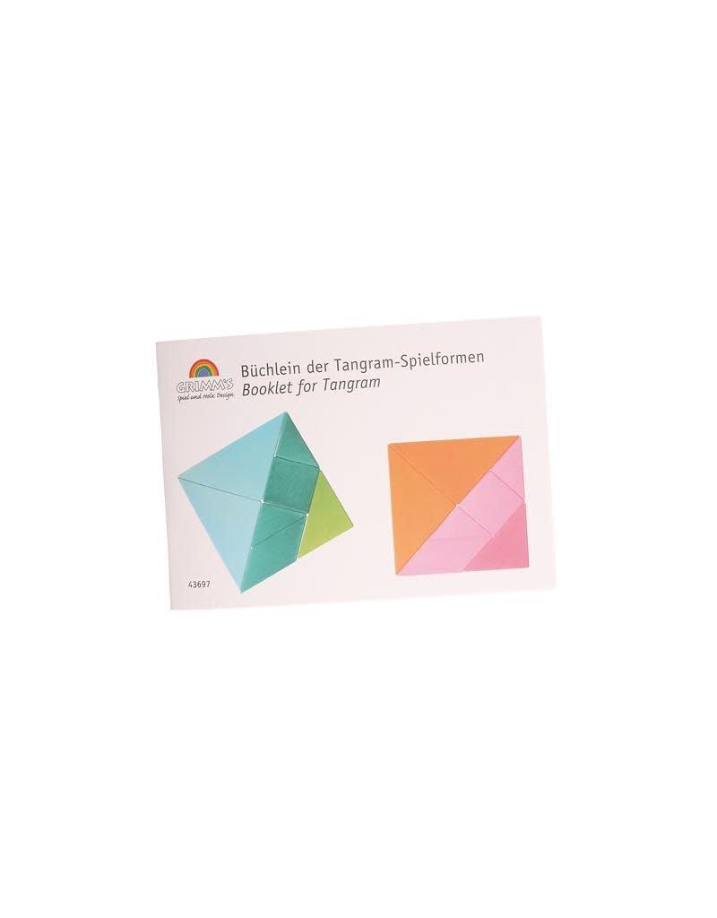 Grimm's Grimm's - puzzel, tangram, bijhorend boekje