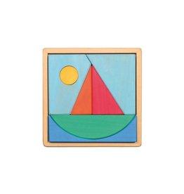 Grimm's Puzzel, zeilboot