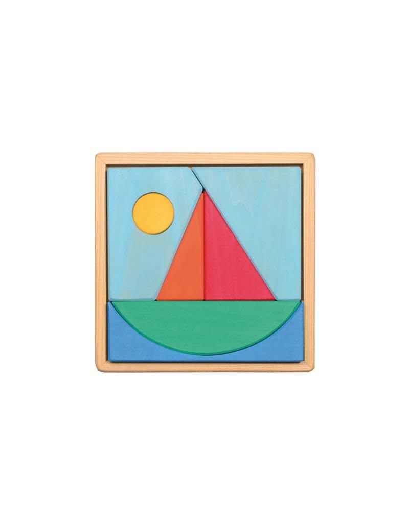 Grimm's Grimm's - puzzel, zeilboot