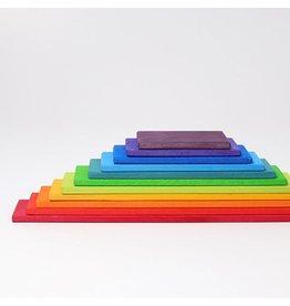 Grimm's Bouwplanken, regenboogkleuren