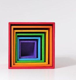 Grimm's Grote houten dozen, gekleurd