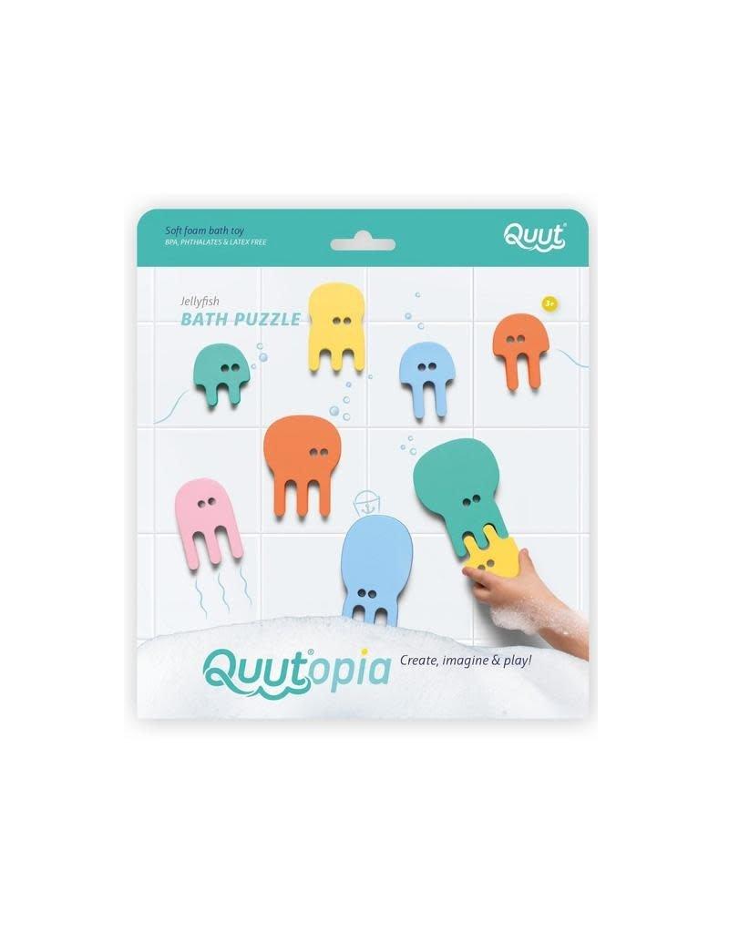 Quut Quut - Quutopia, bath puzzle Jellyfish