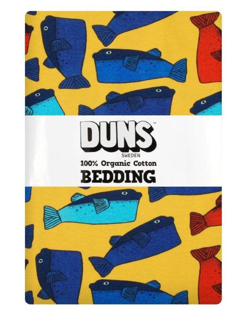 Duns Sweden DunsSweden - donsdekenovertrek en kussensloop, orange, fugu, adult