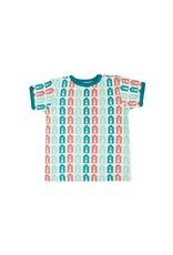 Sture & Lisa Sture & Lisa - T-shirt, huisjes