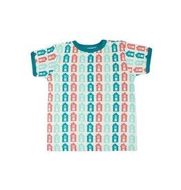Sture & Lisa T-shirt, huisjes (0-2j)
