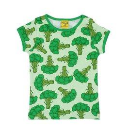 DUNS Sweden T-shirt, lichtgroen, broccoli (0-2j)