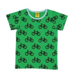 More than a Fling T-shirt, green, bike (3-16j)