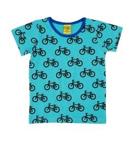 More than a Fling T-shirt, turquoise, bike (3-16j)