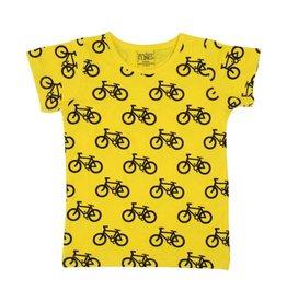 More than a Fling T-shirt, geel, bike (0-2j)