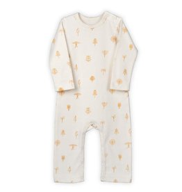 Organic by Feldman Jumpsuit, ochre protective forest (0-2j)