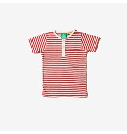 Little Green Radicals T-shirt, rood gestreept, Everyday