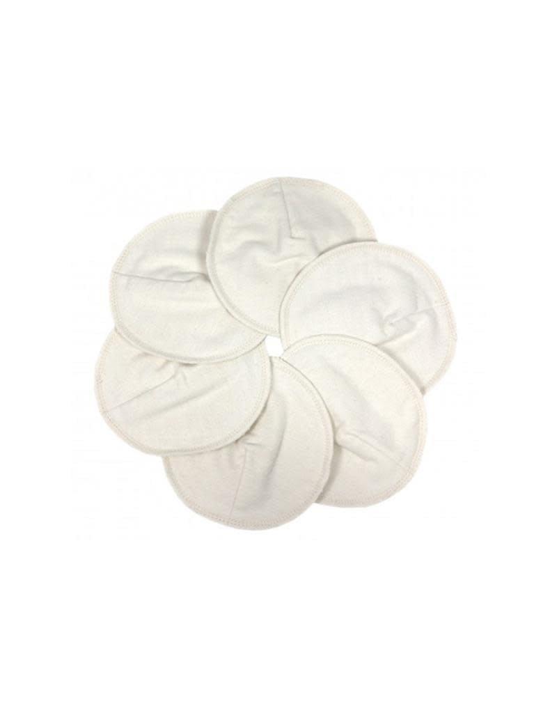 Imse Vimse Imse Vimse - borstvoedingspads, Soft & Absorbent, wit, 3 paar