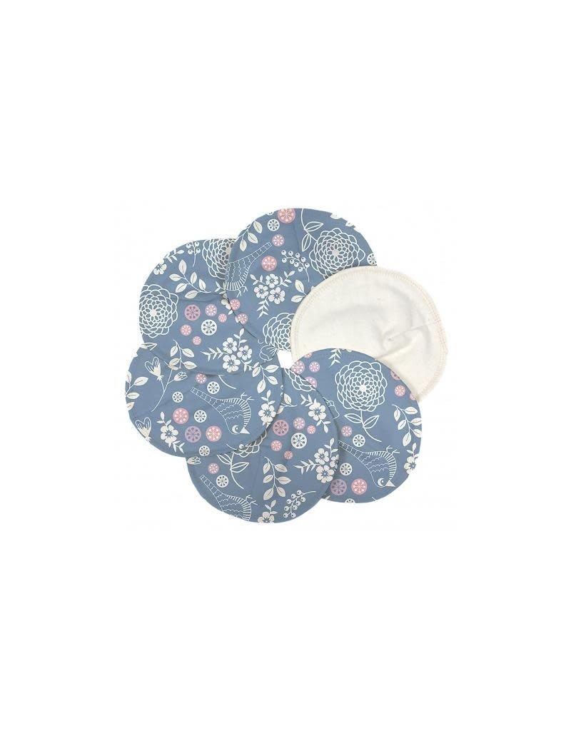 ImseVimse ImseVimse - borstvoedingspads, Soft & Absorbent, garden, 3 paar