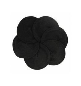 Imse Vimse Borstvoedingspads, Soft & Absorbent, zwart