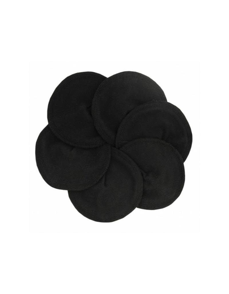 Imse Vimse Imse Vimse - borstvoedingspads, Soft & Absorbent, zwart, 3 paar