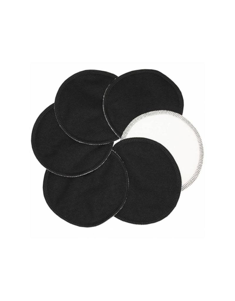Imse Vimse Imse Vimse - borstvoedingspads, Stay Dry, zwart, 3 paar