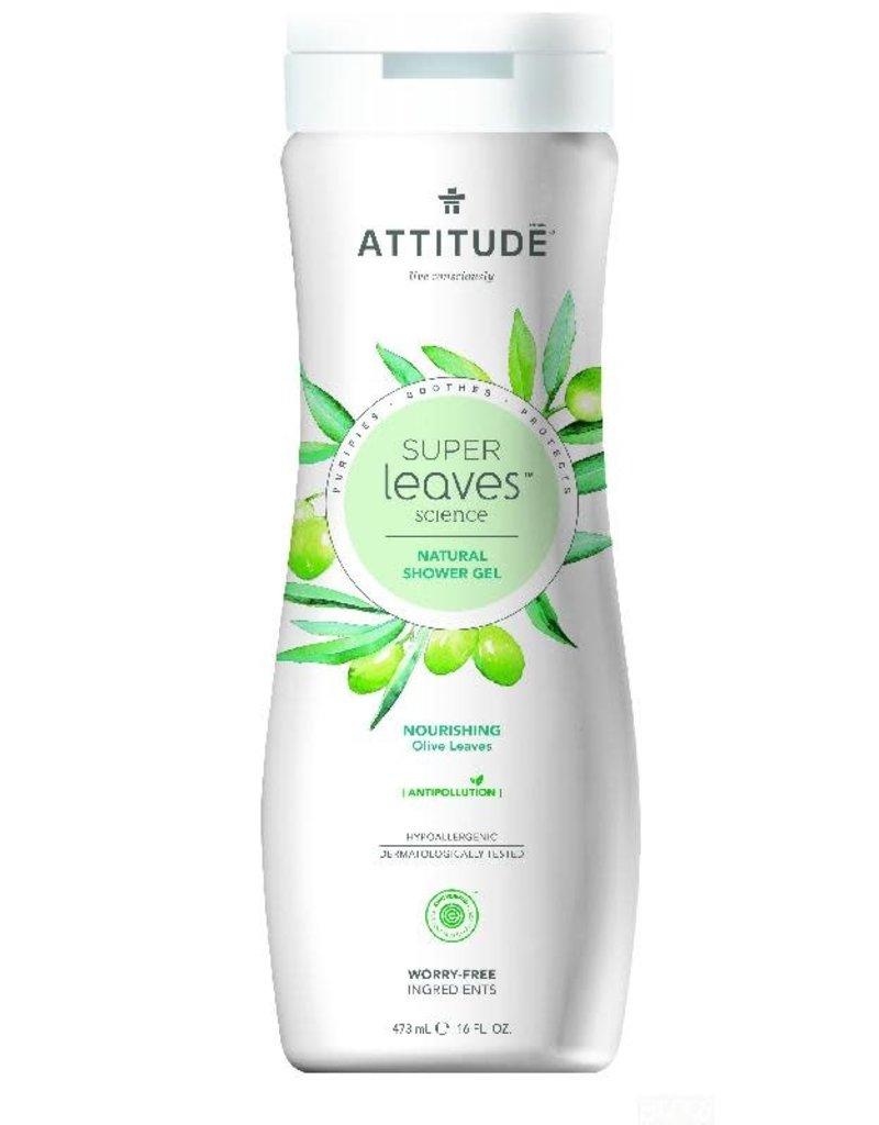 Attitude Attitude - showergel, Nourishing, olive leaves