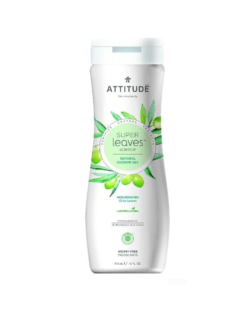 Attitude Attitude - showergel, Nourishing, olive leaves