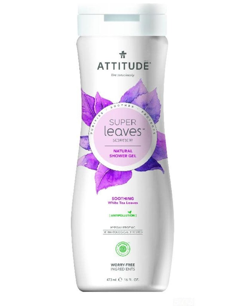 Attitude Attitude - showergel, Soothing, white tea leaves