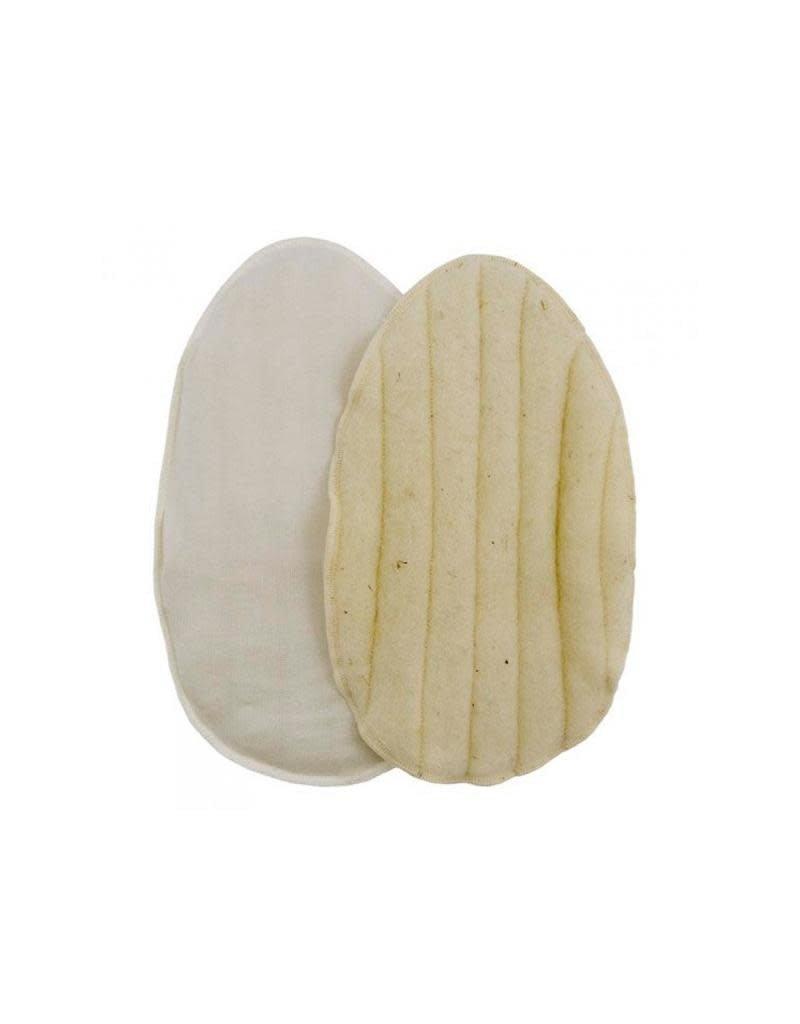 ImseVimse ImseVimse - borstpads, extra warm, wool & silk, 1 paar
