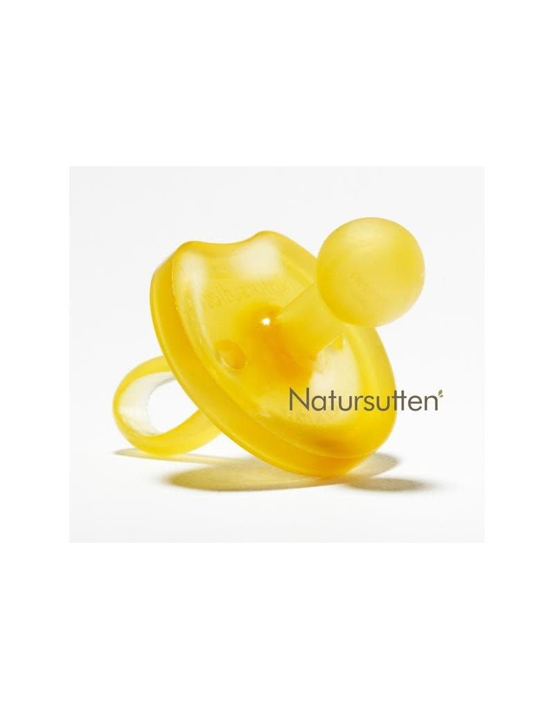 Natursutten Natursutten - fopspeen, vlinder, natuurrubber, rond, +12 ma
