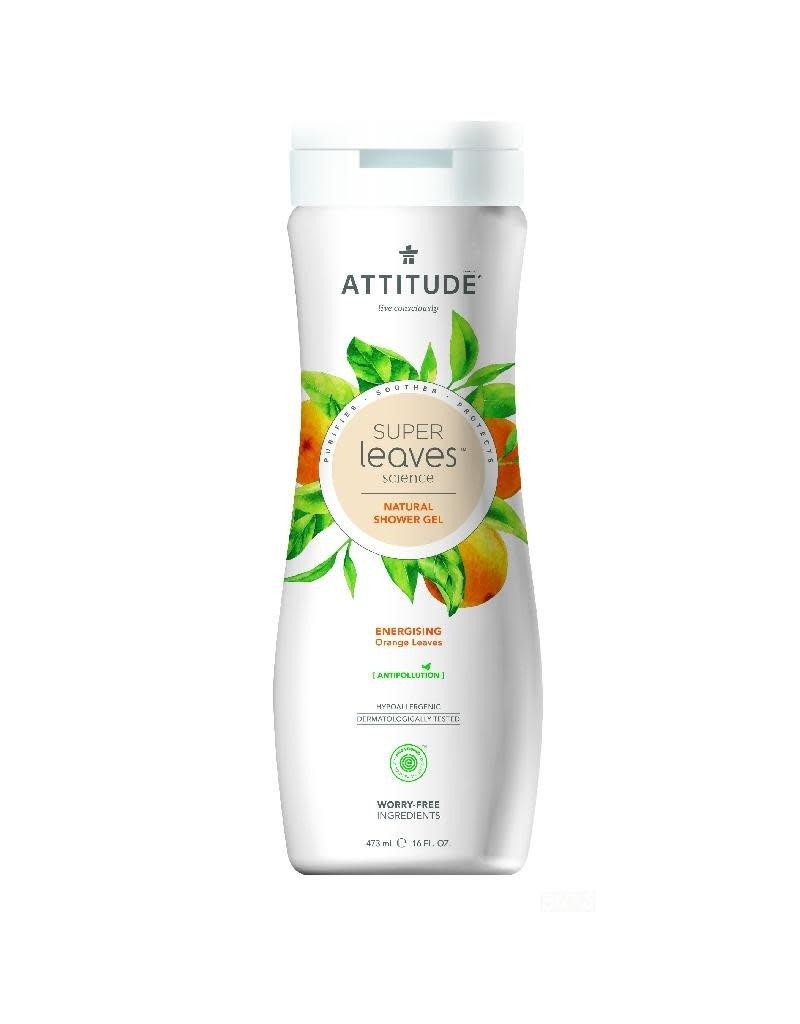 Attitude Attitude - showergel, Energising, orange leaves