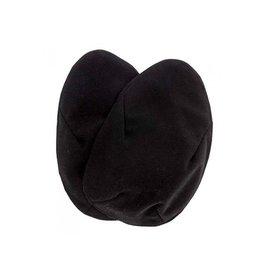 Imse Vimse Borstpads, windproof & warm, zwart