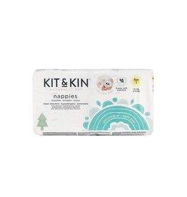Kit & Kin Wegwerpluier, maat 1