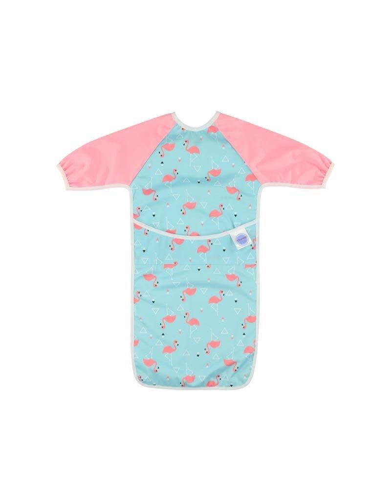 Lilypoppy Lilypoppy - mouwslabbe, roze, flamingo's