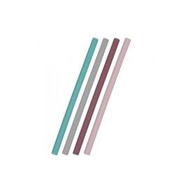 Minikoioi Flexirietjes, silicone, mix roze