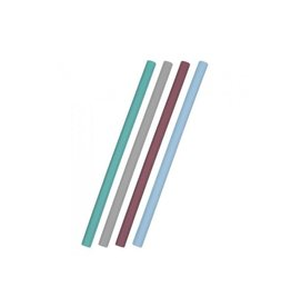 Minikoioi Flexirietjes, silicone, mix blauw