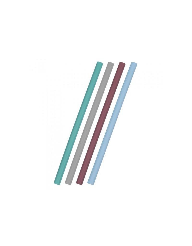 Minikoioi Minikoioi - flexirietjes, silicone, mix blauw