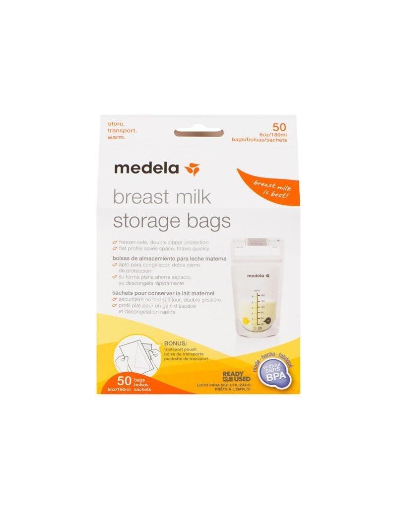 Medela Medela - moedermelkbewaarzakjes, 180 ml, 50 zakjes