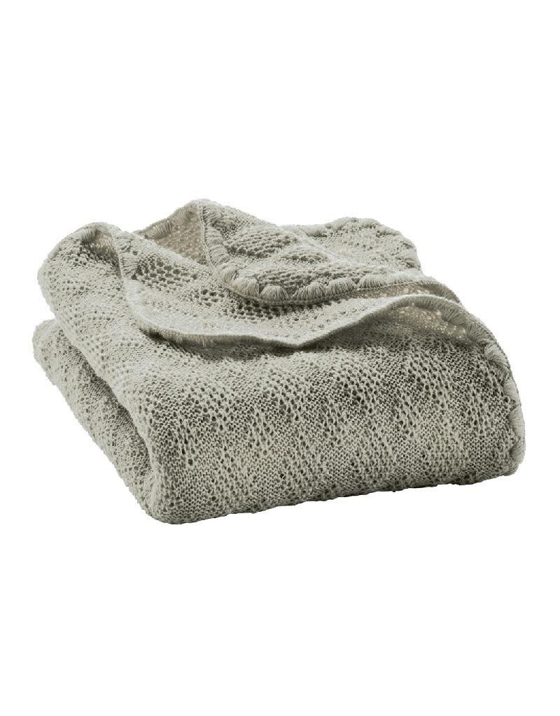 Disana Disana - deken, grey, 100 x 80 cm